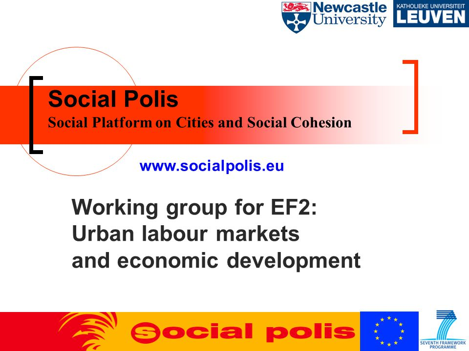 Urban labour markets and economic development Can current labour market trends be usefully explored using the concept of social polarisation.