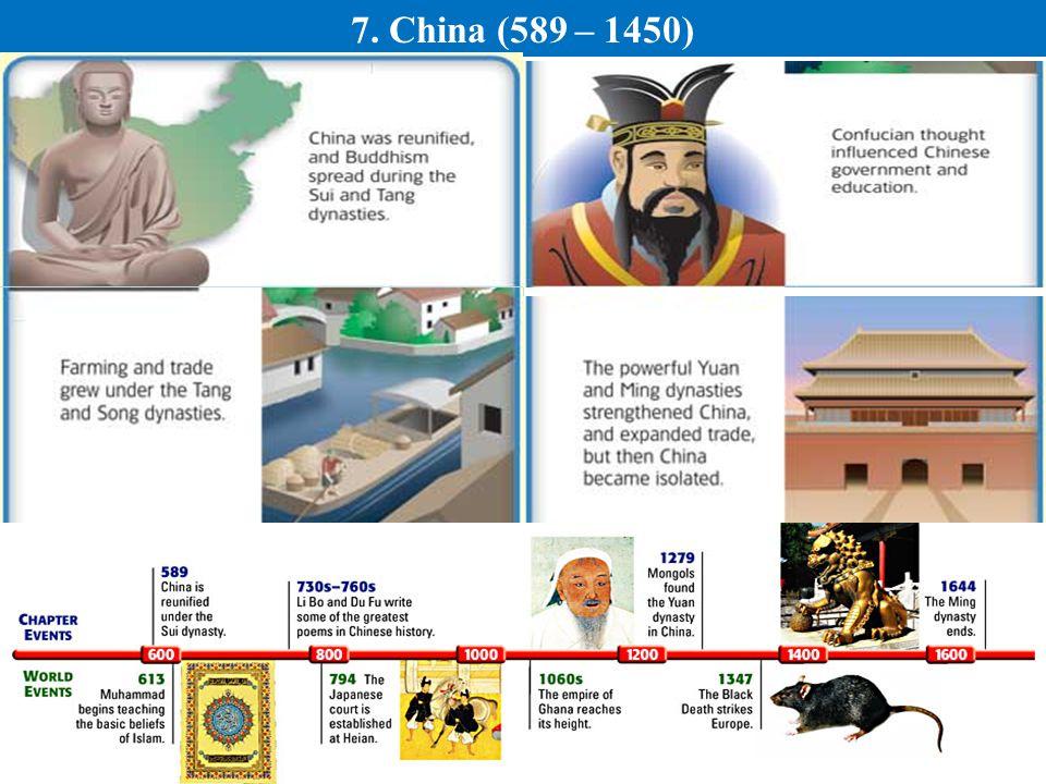 7. China (589 – 1450)