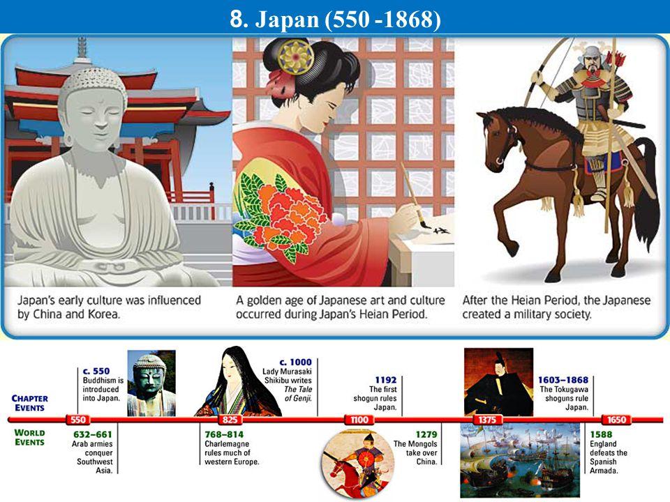 8. Japan (550 -1868)