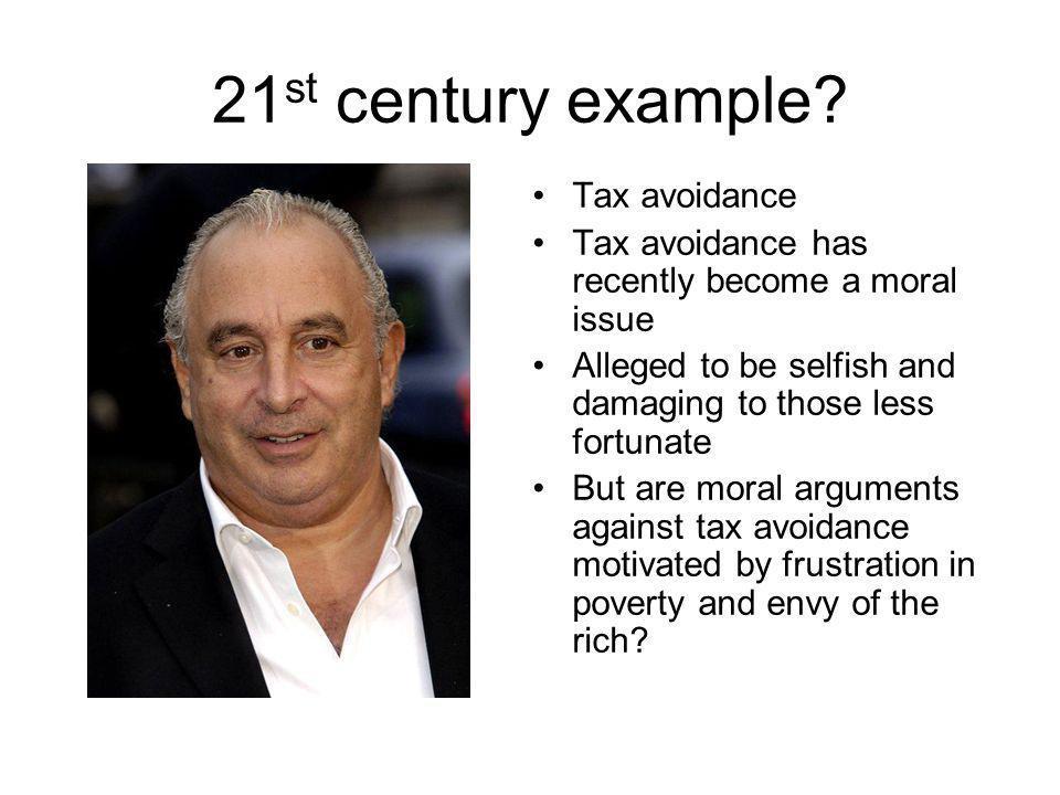21 st century example.