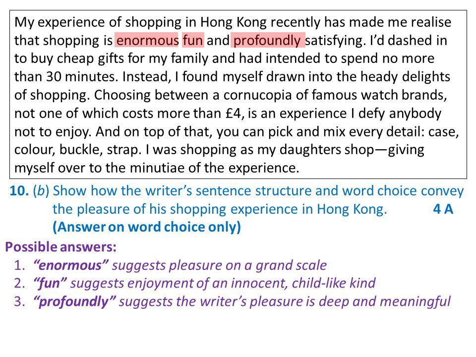 My experience of shopping in Hong Kong recently has made me realise that shopping is enormous fun and profoundly satisfying.