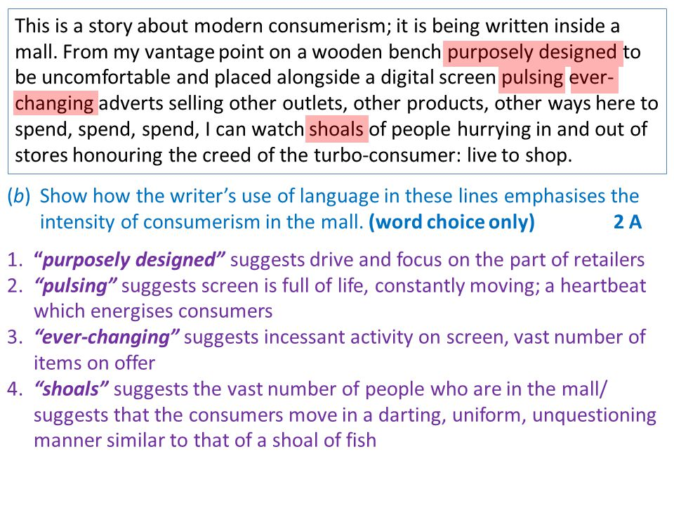 Critics also deplore the outcome—industrialised shopping malls, mass advertising, the manipulation of desire by producers and retailers—as if the consumers at the other end of all this effort were just brainwashed dolts colluding unwittingly in the destruction of their spiritual life and the interpersonal relationships which are central to their happiness.