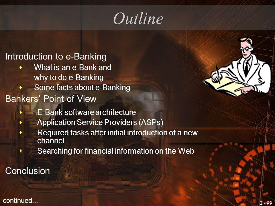 1 / 99 E - Banking