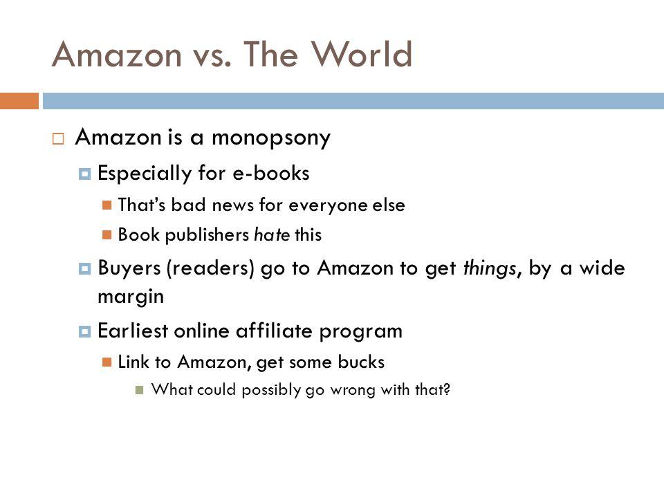 Amazon vs.