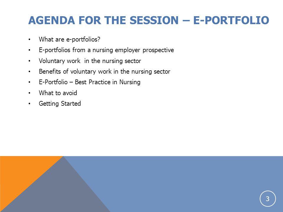 CASE STUDY Example of a good e- portfolio : A common theme throughout e.g.