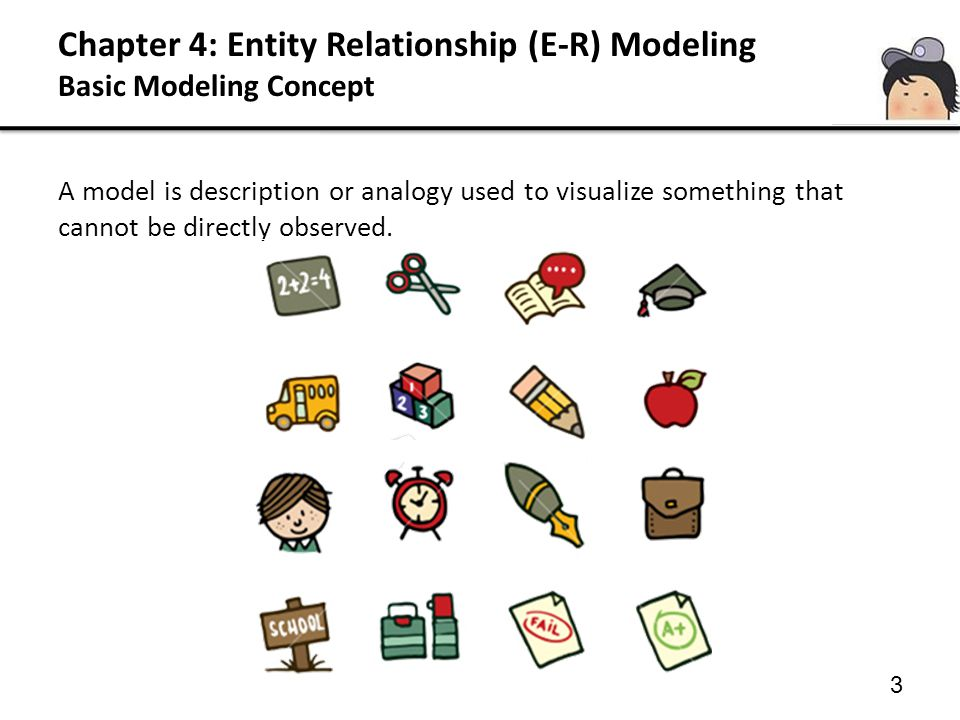 44 Relationship is described by: iii.Cardinality of the relationship Example 3: