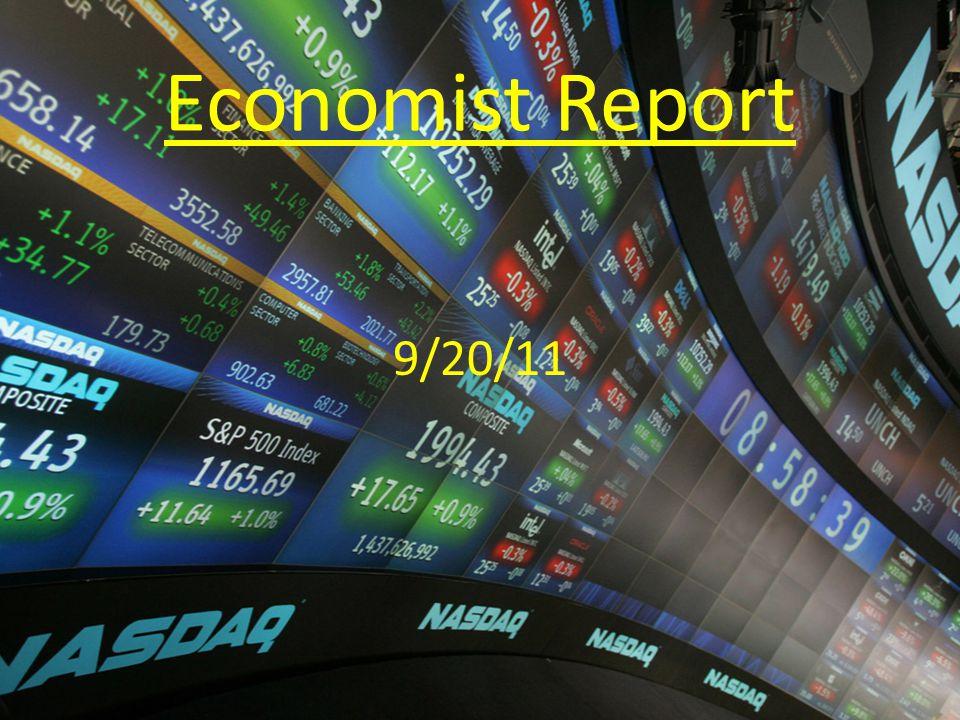 Economist Report 9/20/11