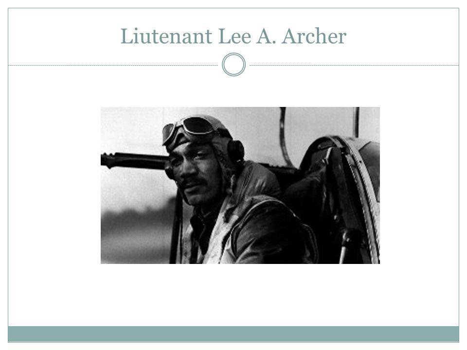 Liutenant Lee A. Archer