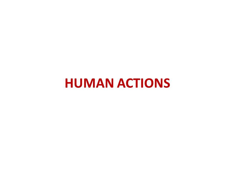 HUMAN ACTIONS