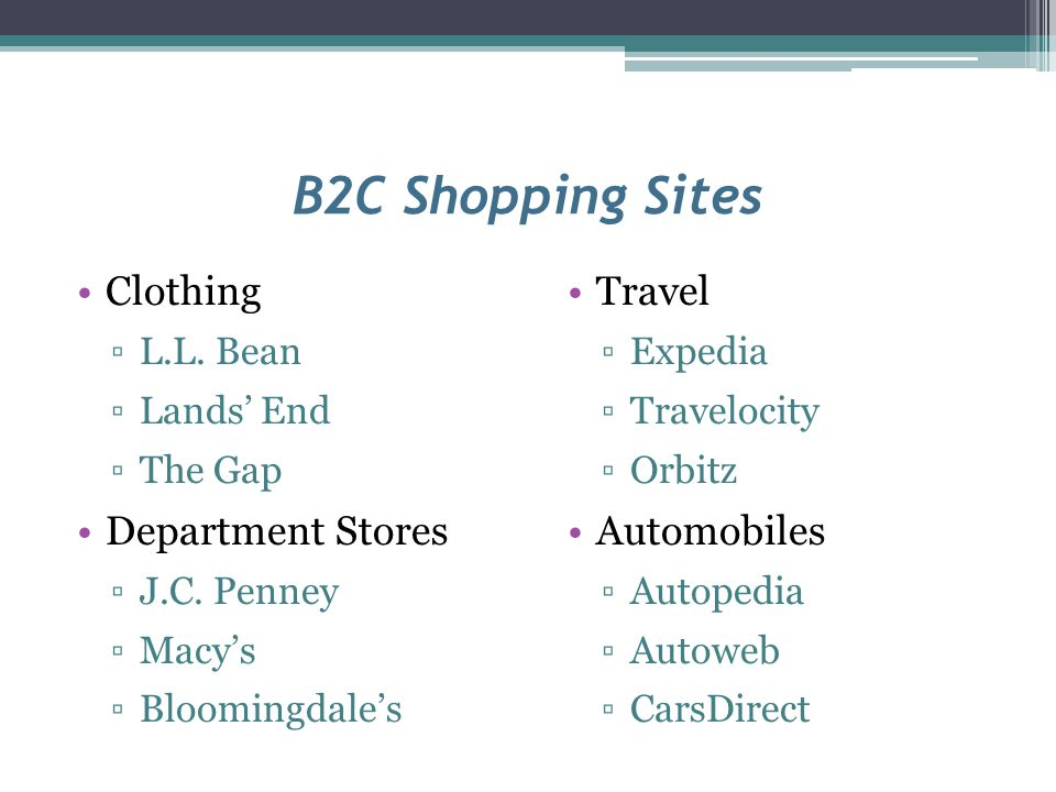 Evaluating Online Shopping Sites Clear selling terms.