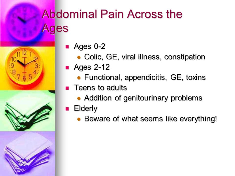 History Taking in Abdominal Pain Presentations OLD CARS OLD CARS O- onset O- onset L- location L- location D- duration D- duration C- character C- character A-alleviating/aggravating factors A-alleviating/aggravating factors associated symptoms associated symptoms R- radiation R- radiation S- severity S- severity