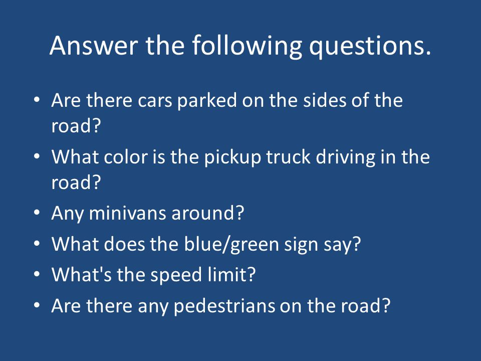 Answer the following questions. Are there cars parked on the sides of the road.