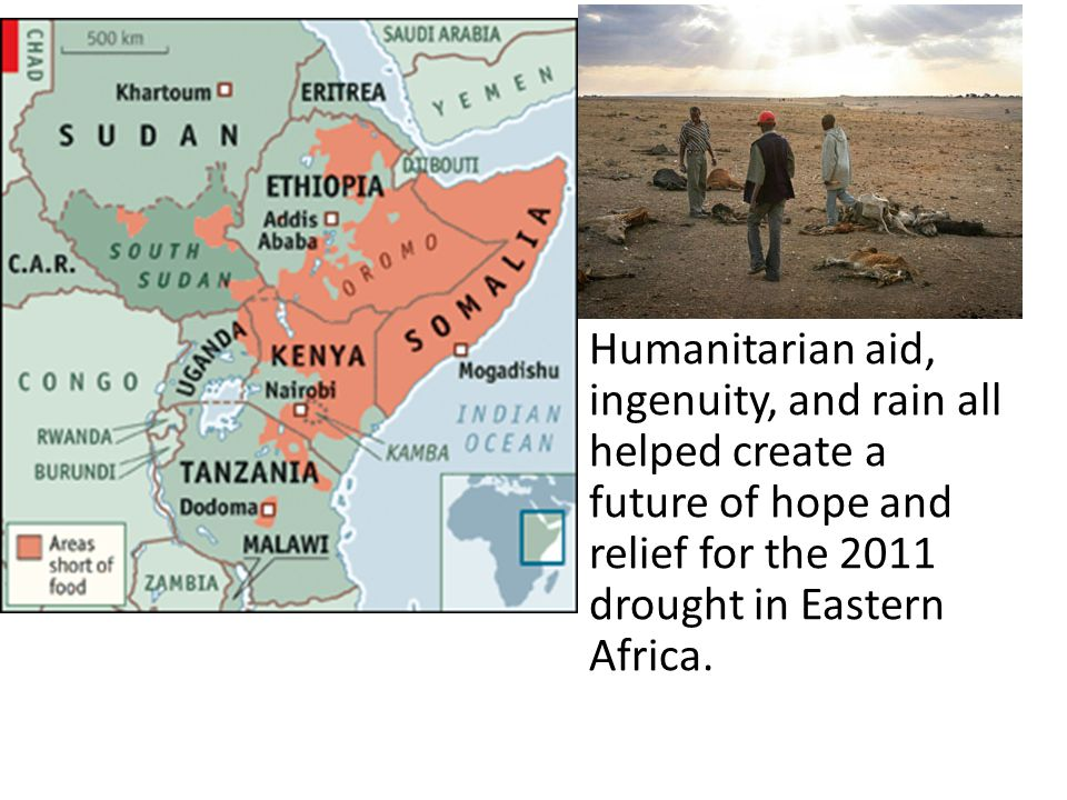 Humanitarian aid, ingenuity, and rain all helped create a future of hope and relief for the 2011 drought in Eastern Africa.