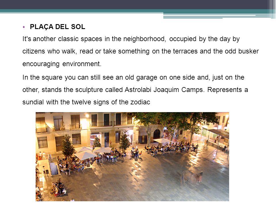 PLAÇA DIAMANT The Diamond Square (La Plaça del Diamant) it s a square of the district of Gràcia.