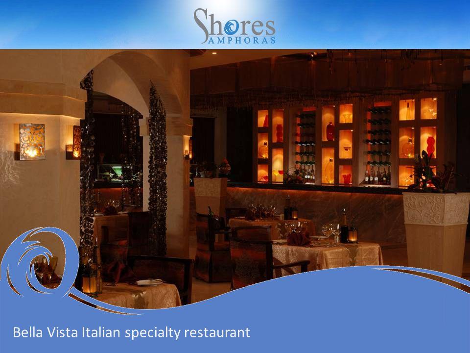 Bella Vista Italian specialty restaurant