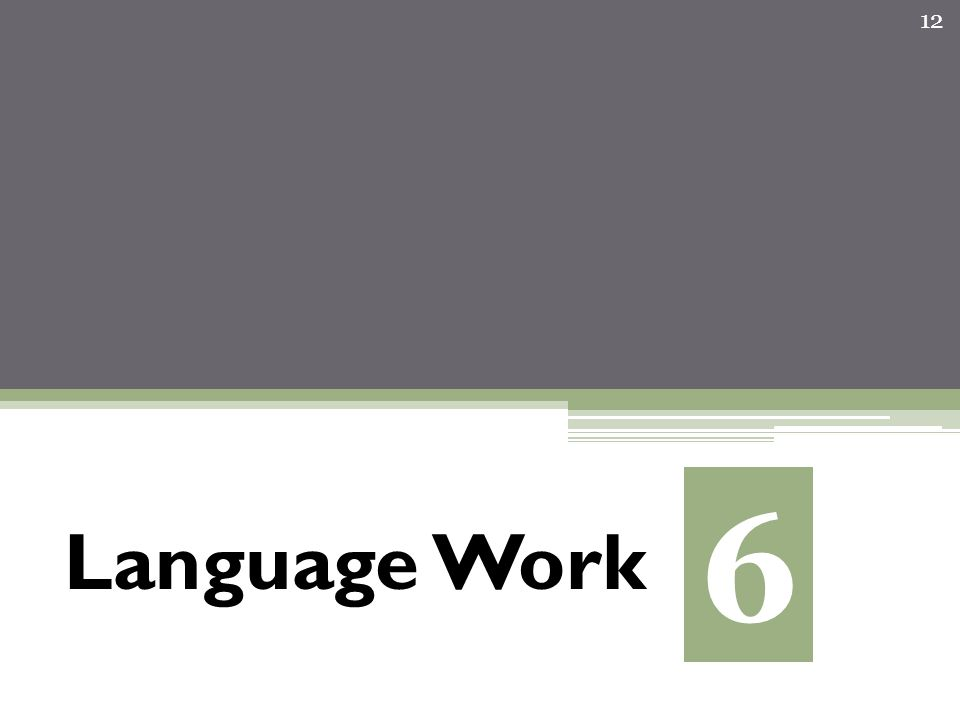 Language Work 12 6