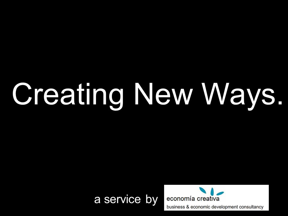 a service by Creating New Ways.