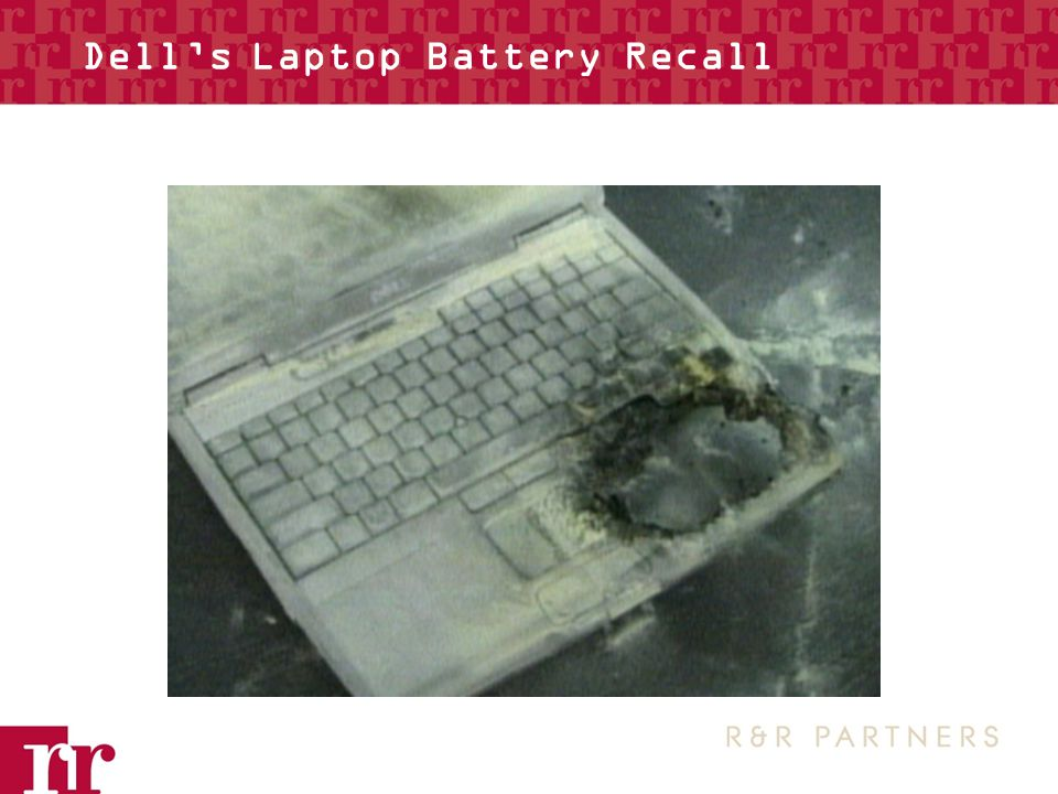 Dell's Laptop Battery Recall
