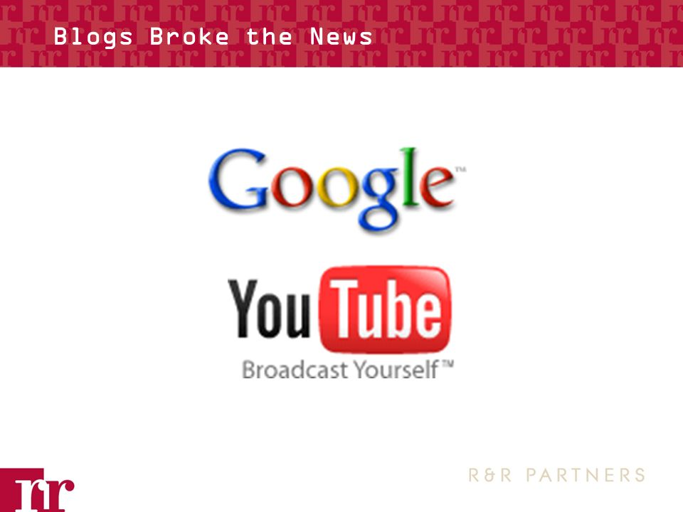 Blogs Broke the News