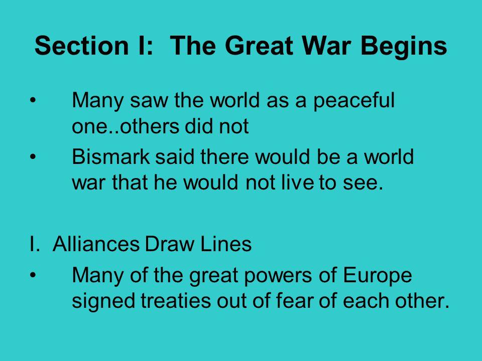 A.The Triple Alliance 1.Germany, Austria-Hungary, Italy.