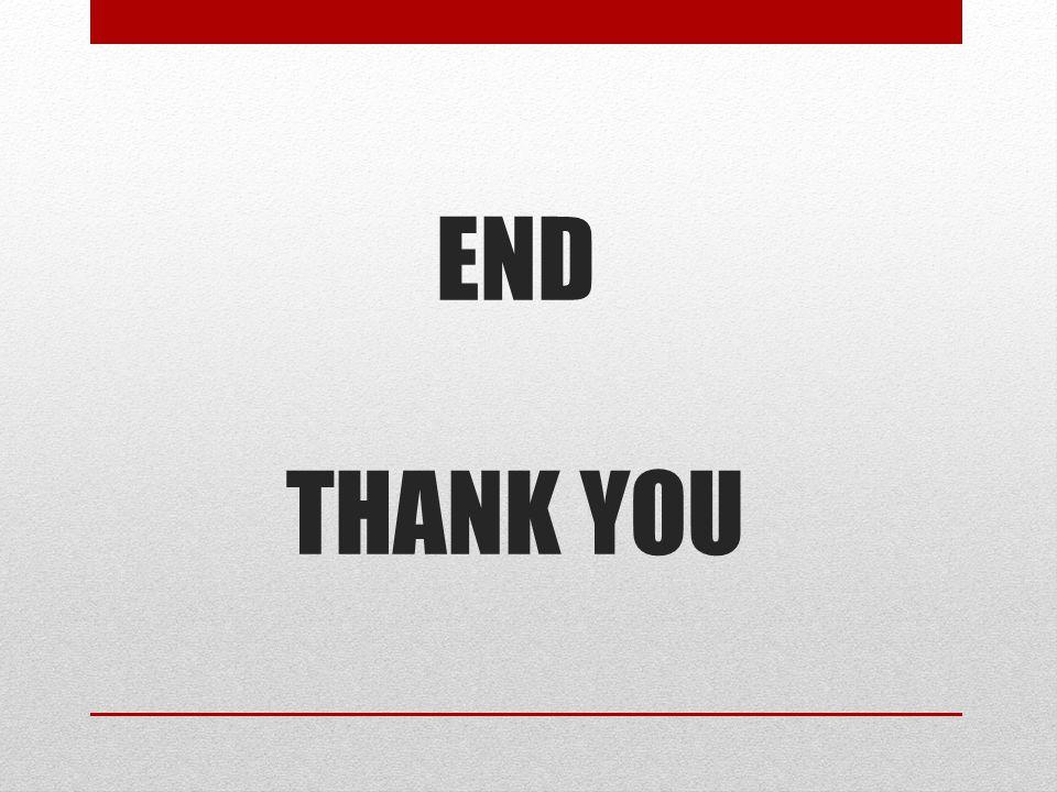 END THANK YOU