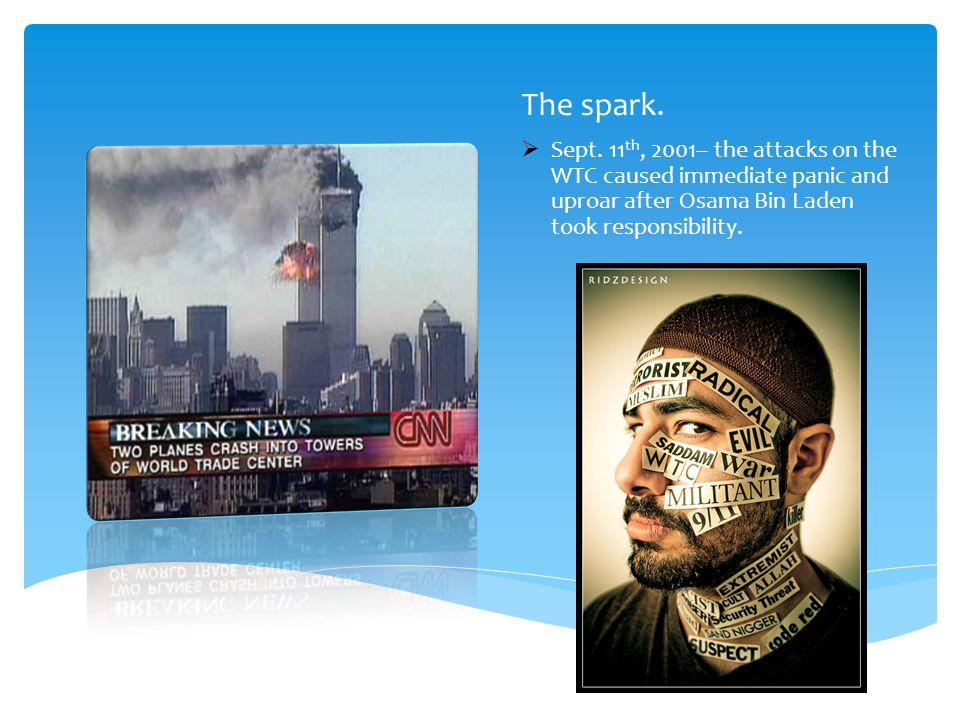 The spark.  Sept.