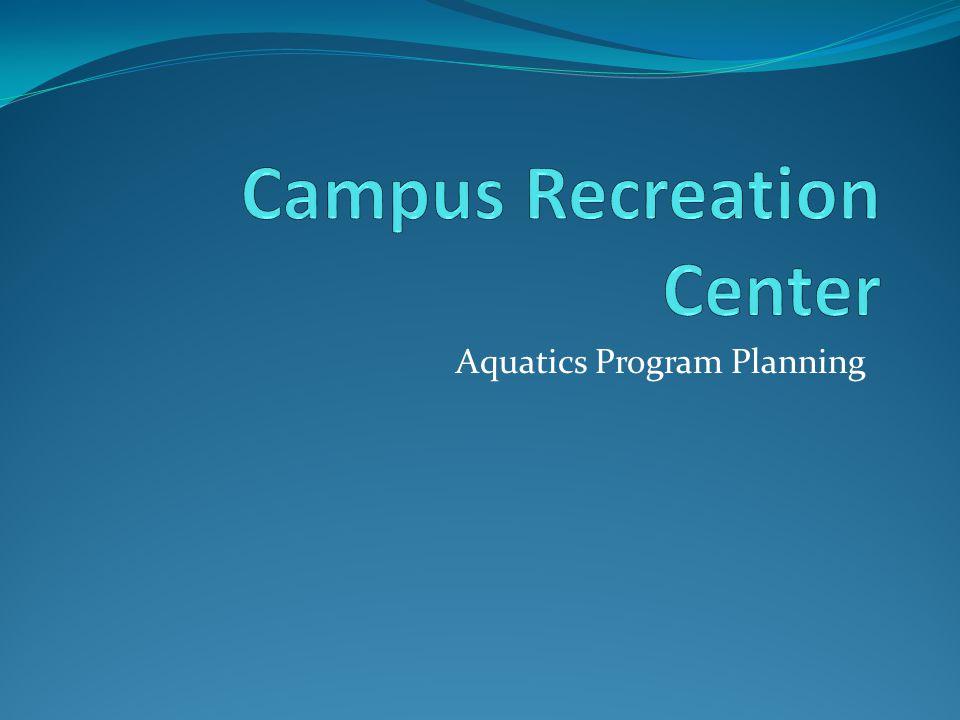 Aquatics Program Planning