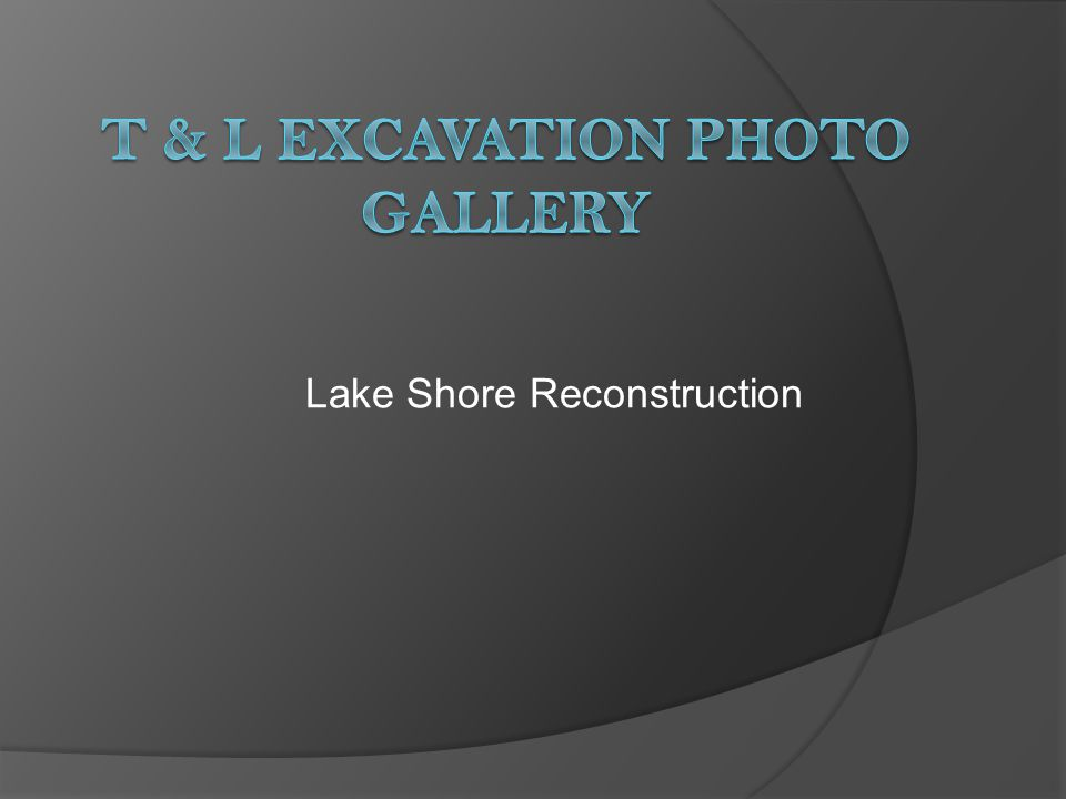 Lake Wisconsin Restoration
