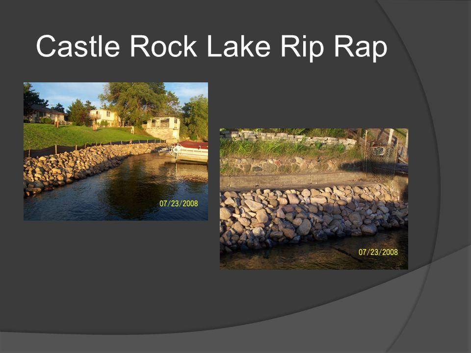 Castle Rock Lake Rip Rap