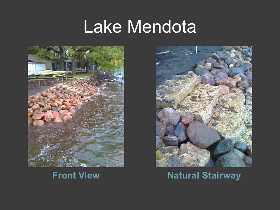 Lake Mendota Front ViewNatural Stairway