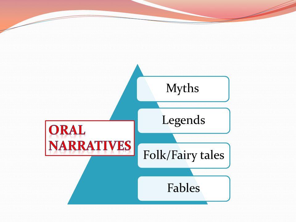 MythsLegendsFolk/Fairy talesFables
