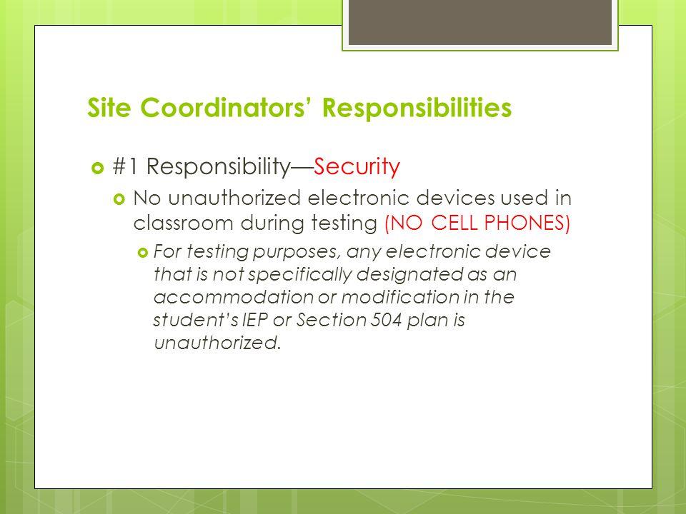 Section 1 Security Affidavits  Breaches Irregularities Improprieties