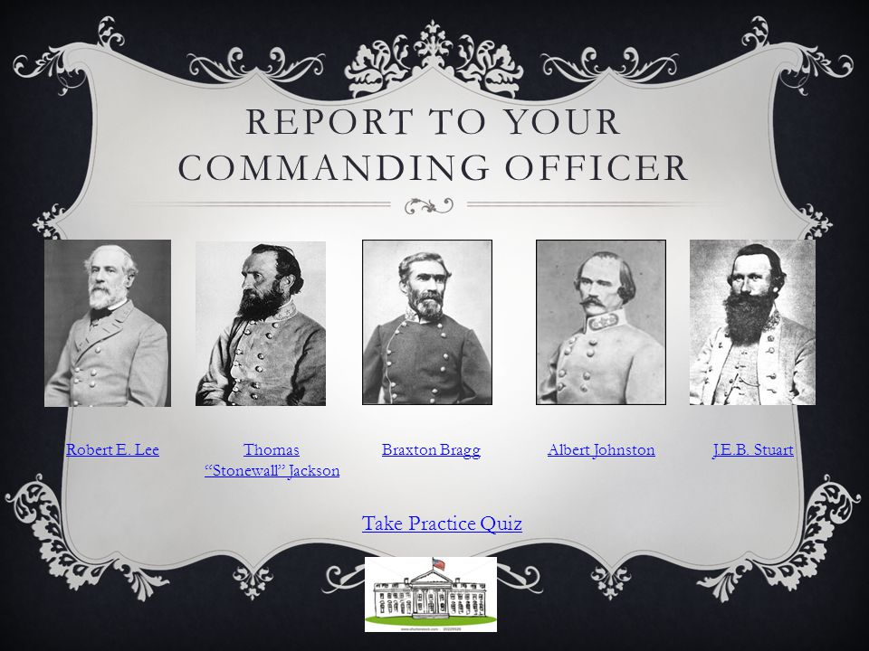 REPORT TO YOUR COMMANDING OFFICER Robert E.