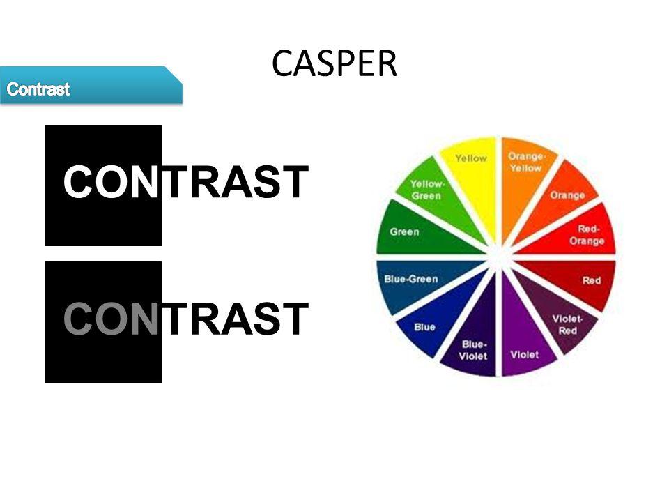 CASPER CONTRAST