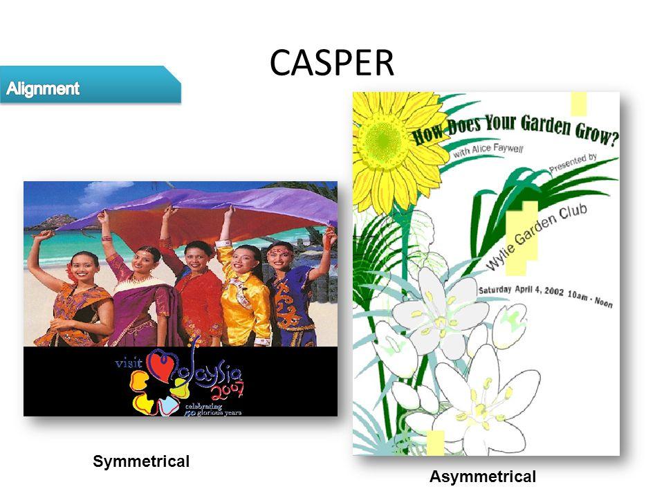 CASPER Symmetrical Asymmetrical