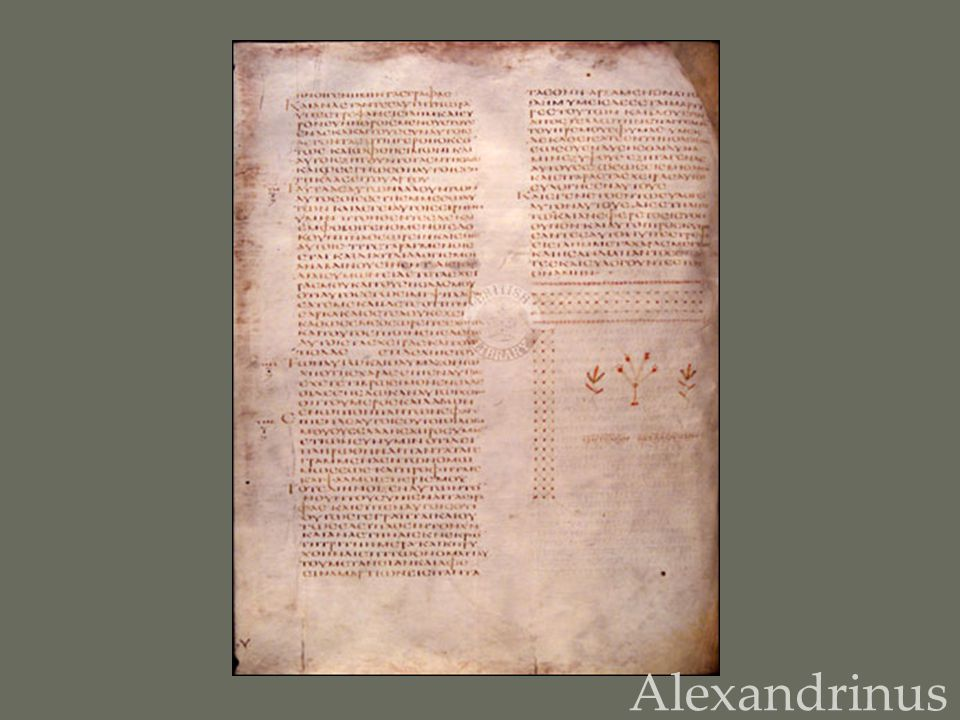 Alexandrinus