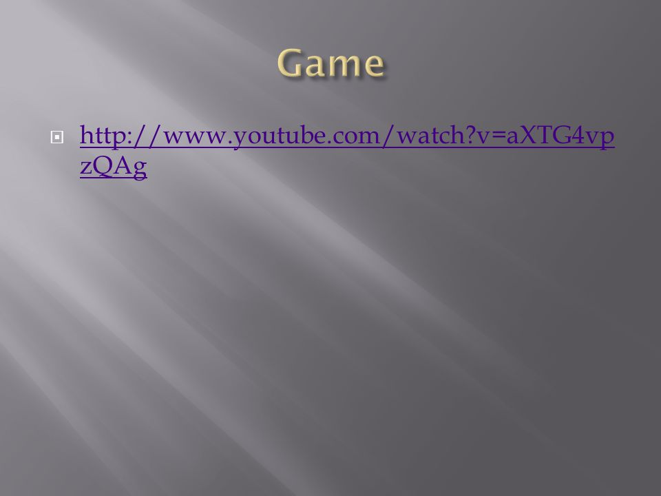 http://www.youtube.com/watch v=aXTG4vp zQAg http://www.youtube.com/watch v=aXTG4vp zQAg