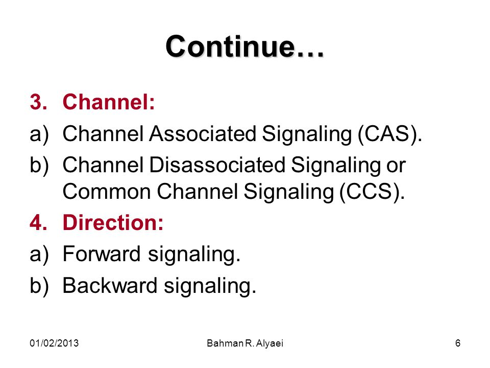 01/02/2013Bahman R. Alyaei107 Continue… An example of automatic rerouting
