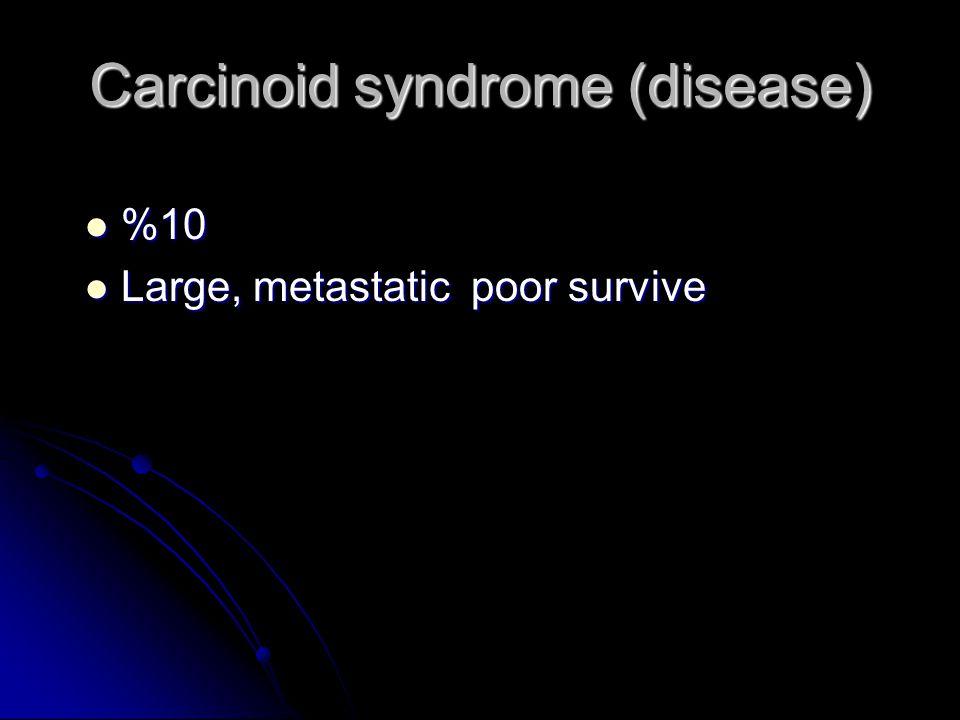 Carcinoid tumor Carcinoid tumor Asymptomatic (up to liver metastase ) Asymptomatic (up to liver metastase ) – dyspepsia – misdiagnosis