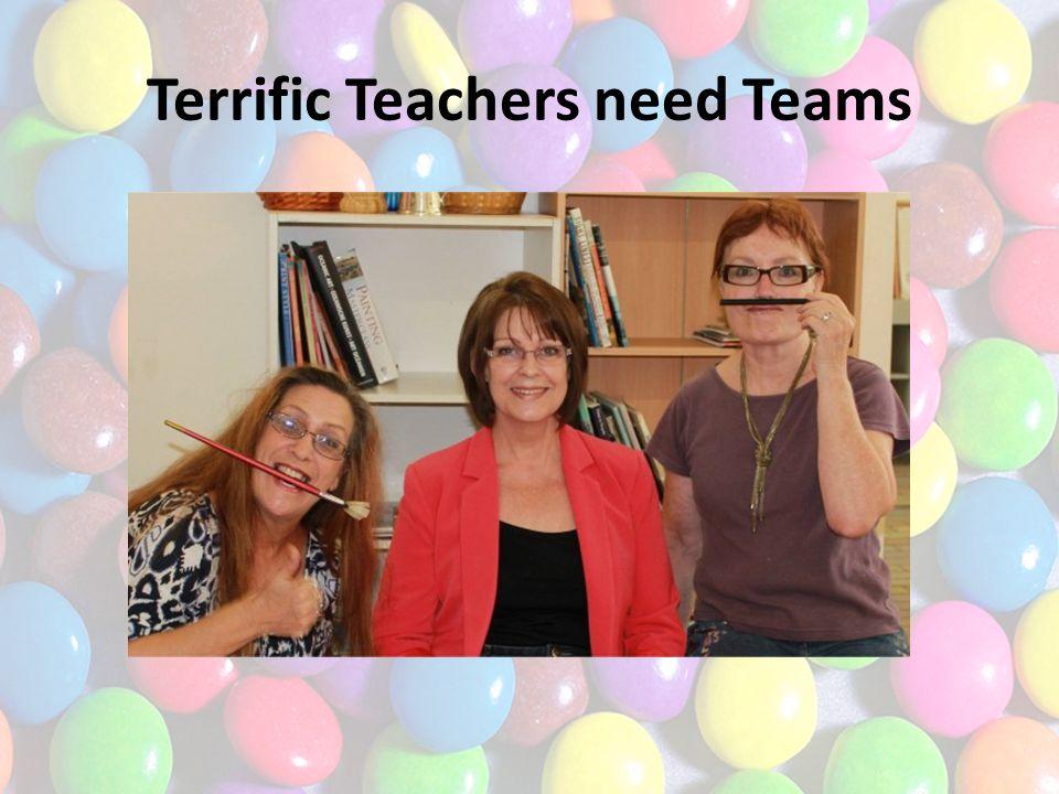 Terrific Teachers need Teams