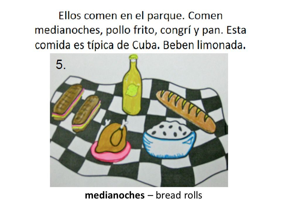 medianoches – bread rolls