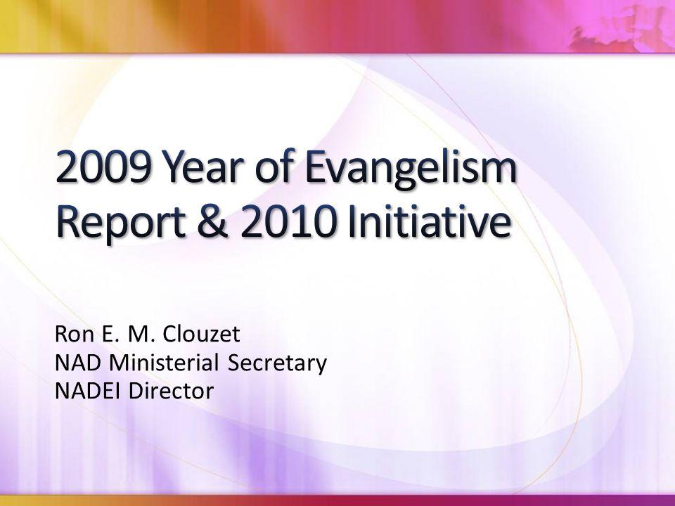 Ron E. M. Clouzet NAD Ministerial Secretary NADEI Director