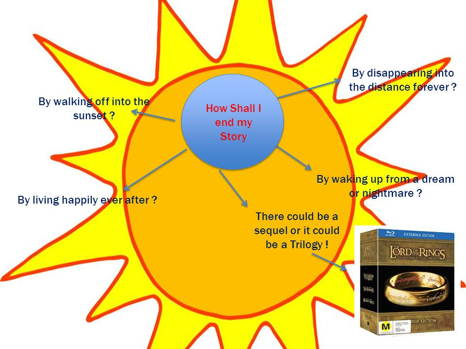 By walking off into the sunset . By living happily ever after .