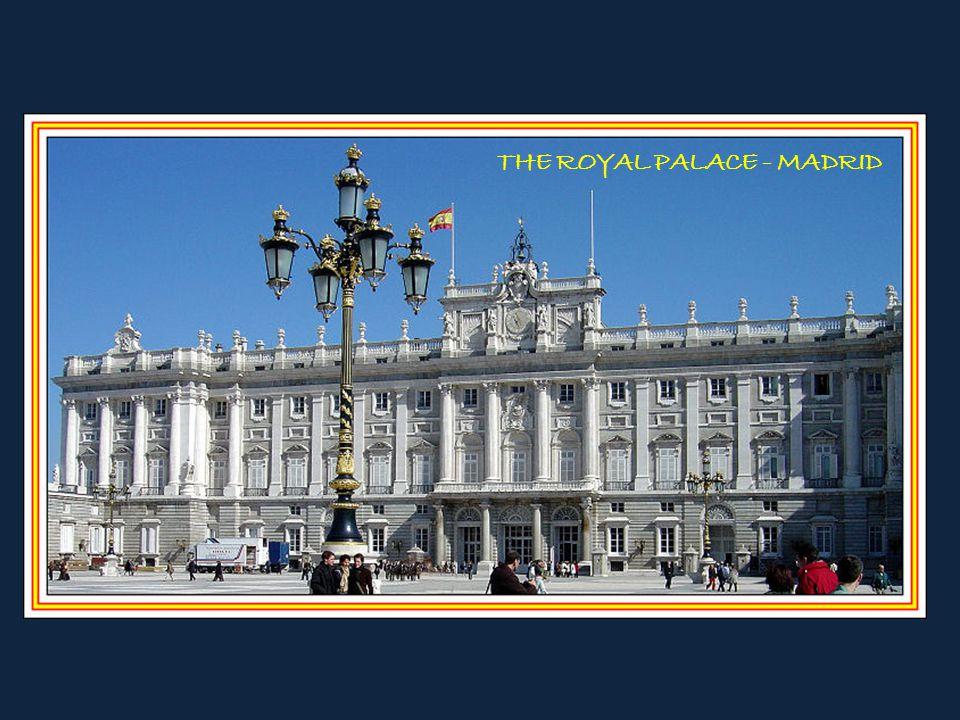 THE ROYAL PALACE - MADRID