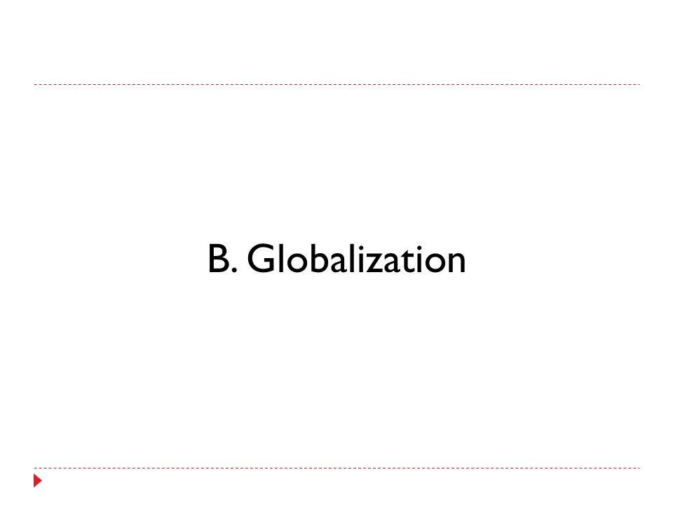 B. Globalization
