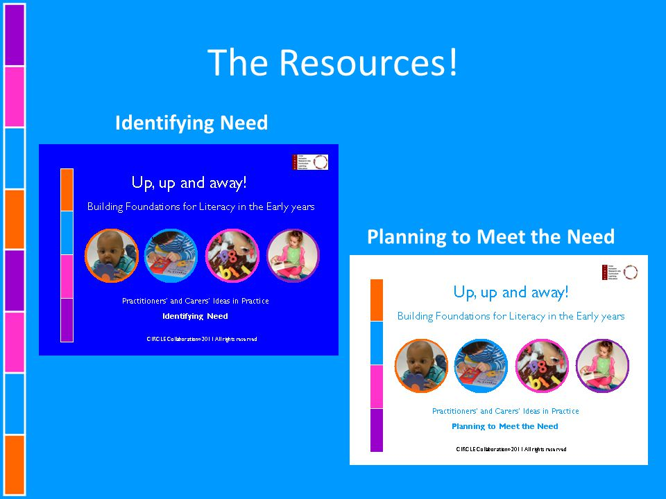 The Resources! Identifying Need Planning to Meet the Need