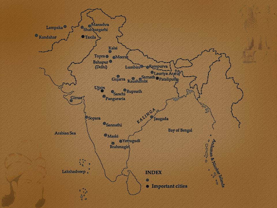 Ashoka was born to the Mauryan emperor Bindusara and a relatively lower ranked wife of his, Dharmā [or Dhammā].