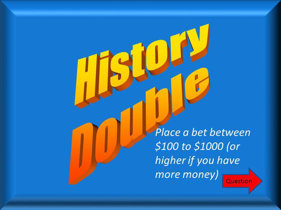 $300 Hernando de Soto Round 1