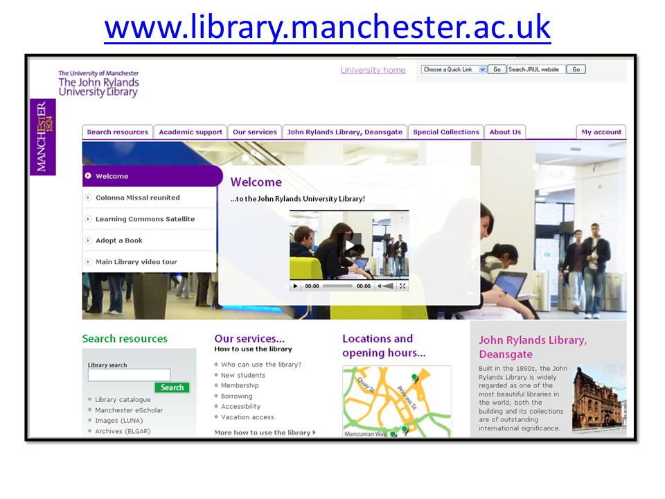 www.library.manchester.ac.uk