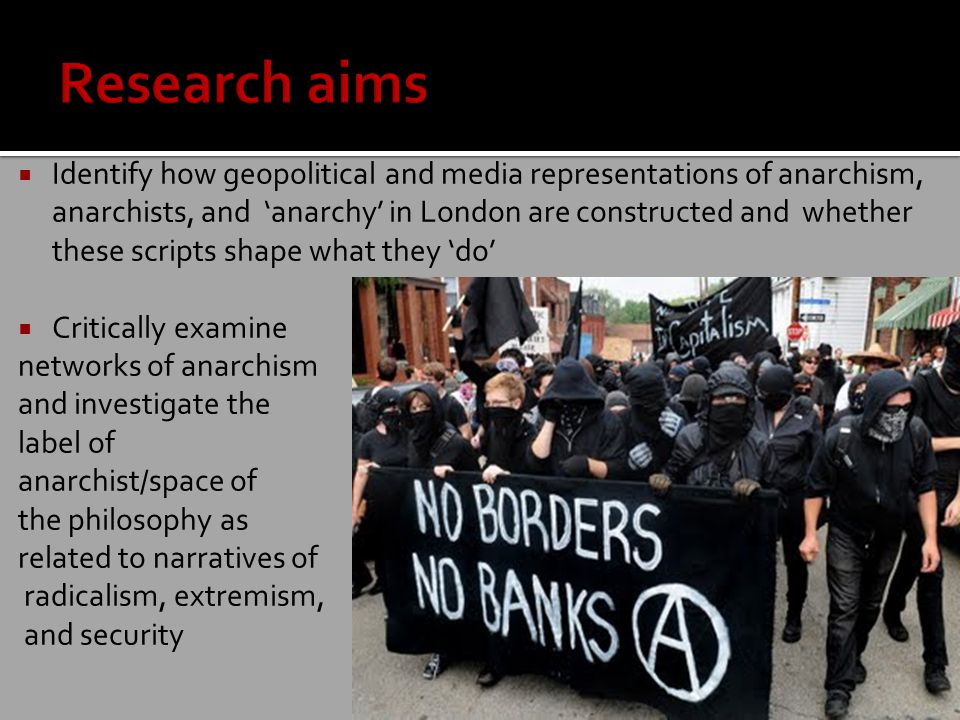  Reclamation of the label 'anarchist'.Reclaiming the movement.